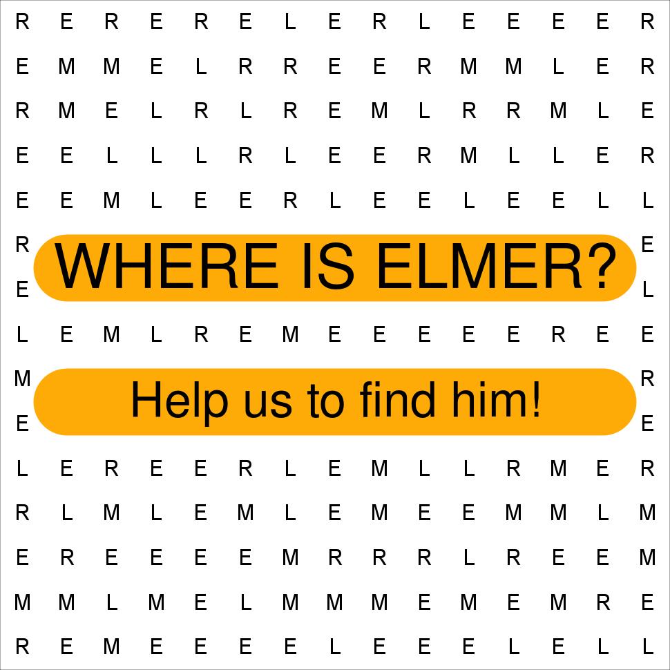 Where Is Elmer Friends